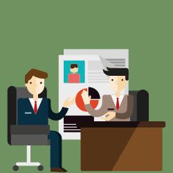 entrevista de emprego como falar de cursos online